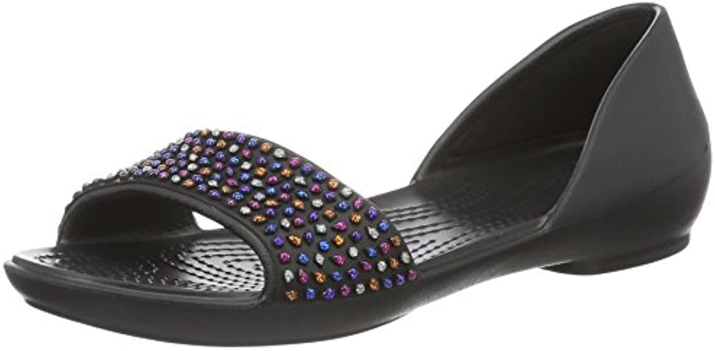 Crocs 204361 Lina Embellised Orsay - 0C4 Black Multi