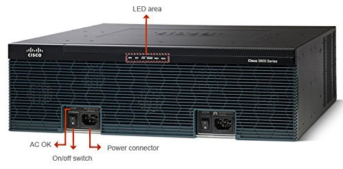 Cisco 3945E Integrated Services Router (3U, Gigabit Ethernet) -