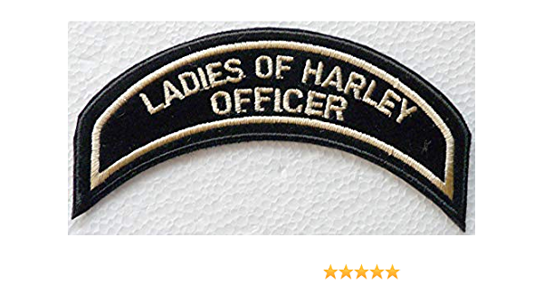 Generico Piccola Toppa Patch Officer Patch Director Harley Davidson