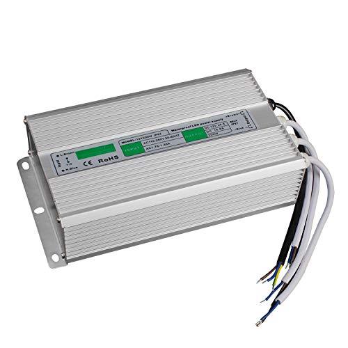cfb80f667f BAODE 10-200W DC 12V LED transformador transformador. Adaptadores de  corriente del conductor de