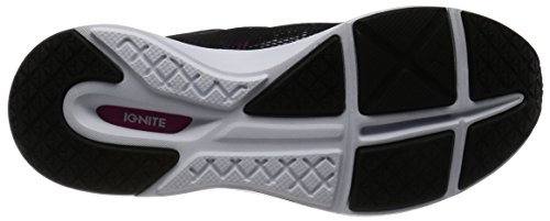 Puma Pulse Ignite Xt Swan Wn's, Scarpe Sportive Indoor Donna Nero (Puma Black-puma White-ultra Magenta 01)