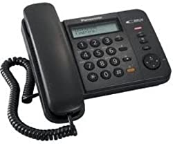Panasonic Single Line KX-TS580MXBD Corded Telephone (Black)
