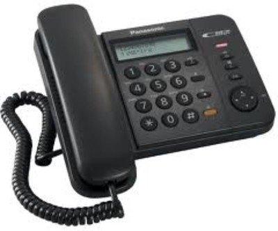 Panasonic Single Line KX-TS580MXBD Corded Telephone (Black)  available at amazon for Rs.2375