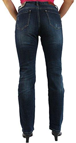 Blue Monkey - Jeans - Femme bleu bleu 26W x 32L Bleu