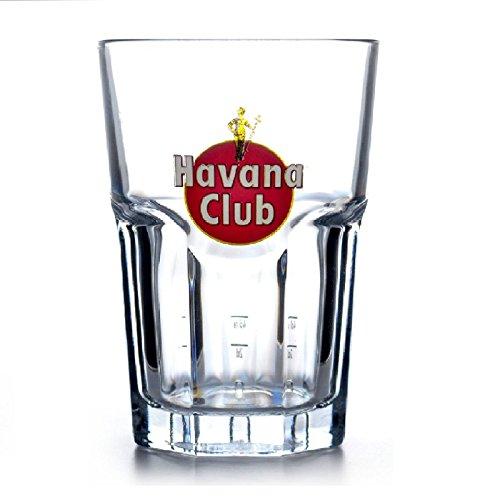 6 x Original Havana Club Rum Gläser Mojito Longdrink Rastal Glas 34 cl