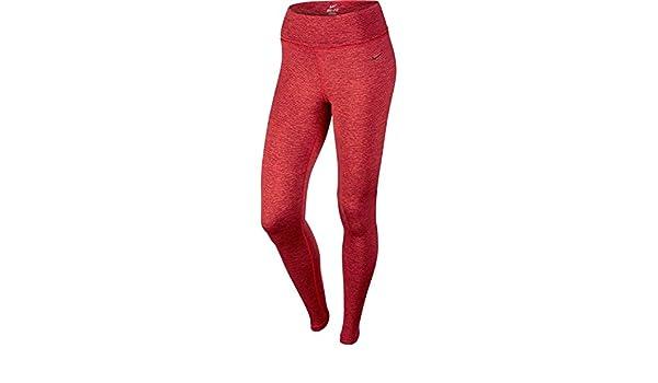 Nike Legend Poly Spacdye Tight Collant pour femme Rouge noir Taille XS   Amazon.fr  Chaussures et Sacs 8d8e3853010