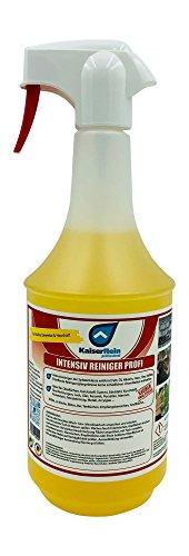 KaiserRein Intensivreiniger Küchenreiniger Profi Spray 1L (1000ml) Fettlöser Reiniger Küchen-fronten matt Hochglanz Edelstahl -