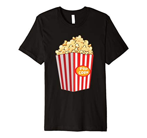 Funny Popcorn Last Minute Halloween Snack Mais Box T-Shirts