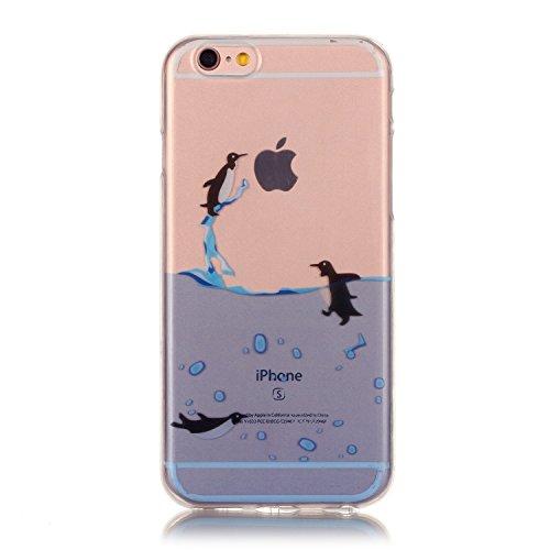 TPU Silikon Schutzhülle Handyhülle Painted pc case cover hülle Handy-Fall-Haut Shell Abdeckungen für Smartphone Apple iPhone 6 +Plus (5.5 Zoll)+Staubstecker (6FB) 3
