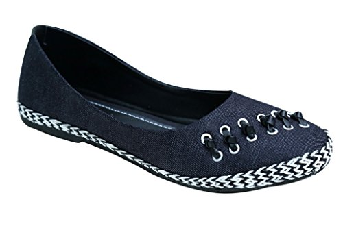 REMSON INDIA WOMEN'S BLACK DENIM BELLIES