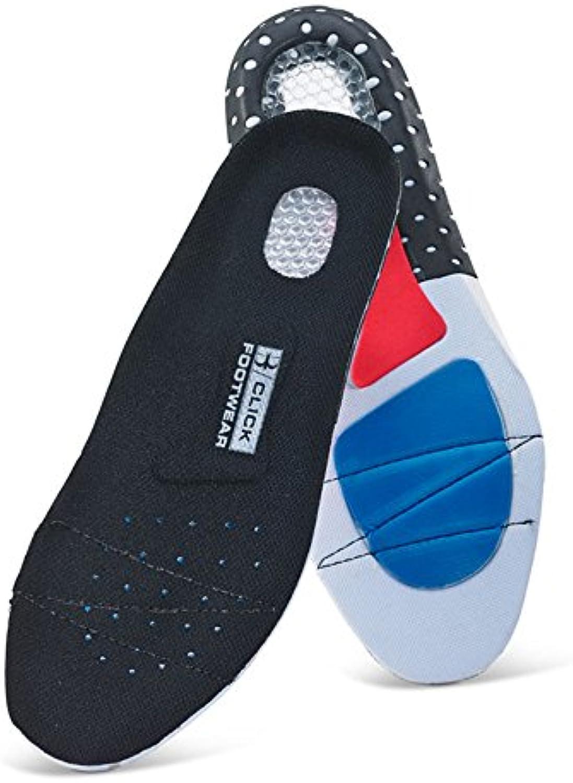 Click - Calzado de protección para hombre multicolor negro/azul 44 EU