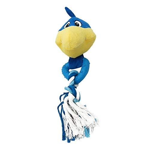Balock Schuhe Plüsch Hundespielzeug,Süßes Haariges Molaren Beißfeste Spielzeuge,Plüschhund Vocal Pet Spielzeug,Hunde Spielzeug Plüsch Hundespielzeug für Welpen Kleine Mittelgroße Hunde (Blau) -