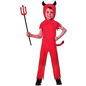 amscan Devil Boy Costume-Age Years-1 Pc Adorable disfraz de diablo - Edad 2-3 años - 1 pieza (9902726)