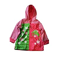 Raincoat Rain Jacket Size 110 / 116 Frog by Stephen Joseph