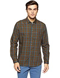 LP Jeans By Louis Philippe Men's Geometric Print Slim Fit Casual Shirt