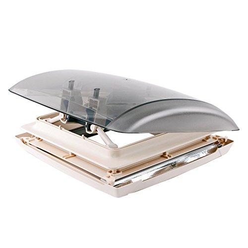MPK Dachfenster Dachhaube Vision Vent S pro klar 28x28 cm Dachstärke 24-46 mm 27P Dachhaube