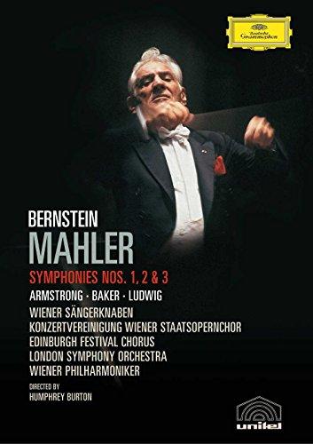 Preisvergleich Produktbild Mahler,  Gustav - Sinfonie Nr. 1-3 [2 DVDs]