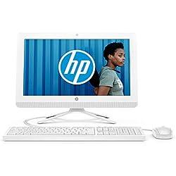 HP 20-c434nf Ordinateur Tout-en-un 19,5'' FHD Blanc (Intel Celeron, 4 Go de RAM, 1 To de Stockage, Windows 10)