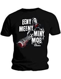 Official T Shirt Zombie The Walking Dead Negan EENY Meeny All Sizes