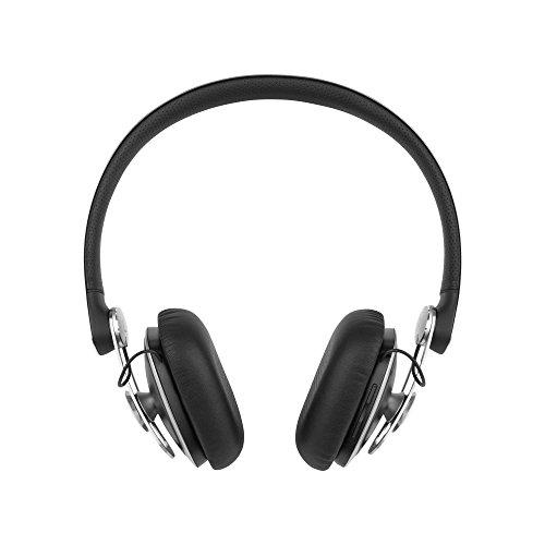 Moshi Avanti Air Casque Audio Bluetooth Sans Fil avec Micro et Étui de Rangement - Noir de Jais