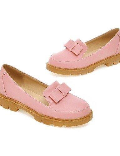 ShangYi gyht Scarpe Donna - Ballerine - Casual - Comoda / A punta - Piatto - Finta pelle - Blu / Rosa / Beige Pink