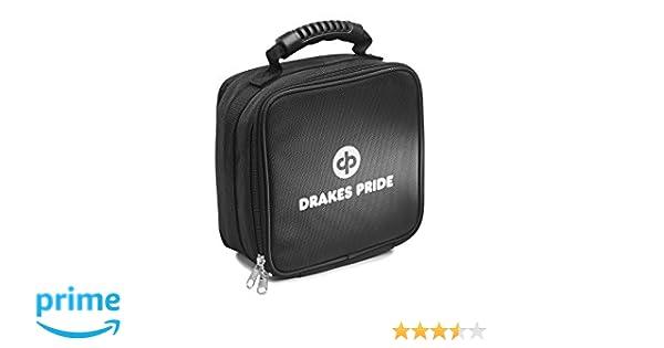 Drakes Pride Quad Bowls Bag Red Holds 4 Carpet Bowls or 4 Crown Green Jacks
