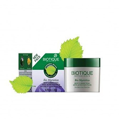 Biotique Bio Myristica Face Pack (20GM, Pack of 2)