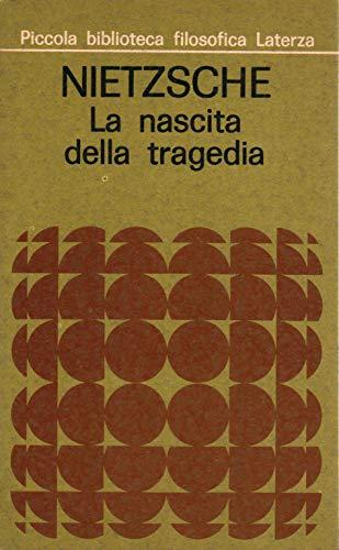 Nietzsche:la nascita della tragedia ovvero Grecità e pessimismo