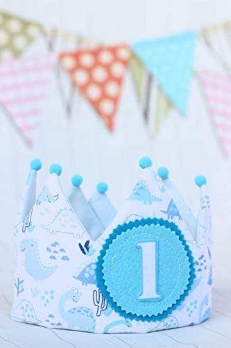 Pittitus Cappellini da festa Corona di compleanno primo regalo bambino smash cake