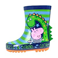 Boys George Pig Dino The Dinosaur Wellies