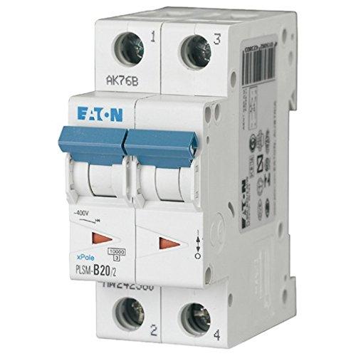 Ge Circuit Breaker Panel (Eaton Leitungsschutzschalter 20A 2polig c-char 10KA plsm-c20/2-mw)