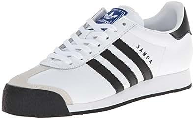 adidas Originals Samoa Retro Sneaker Running Shoe, White