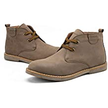 Amazon.it: scarpe scamosciate uomo Beige