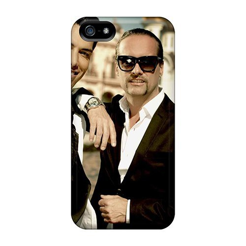 Tpu Purecase Shockproof Scratcheproof Eurovision Alex Swings Oscar Sings Hard Case Cover For Iphone 5/5s