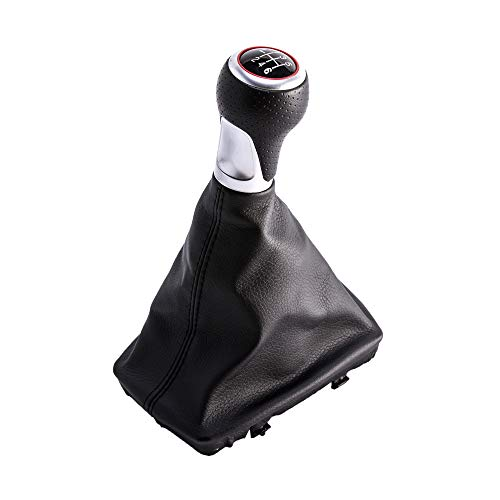 Sfonia 6 marce pomello leva cambio gear shifter copertura antipolvere per a4 s4 b8 8k/ a5 8t q5 8r s-line (2007-2015)