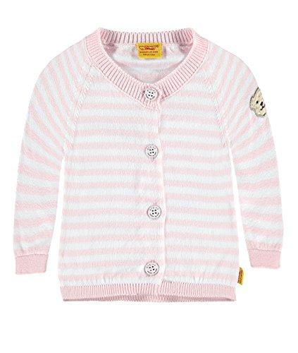 Steiff Baby-Mädchen Strickjacke 6712007, Mehrfarbig (Y/D Stripe 0001), 80