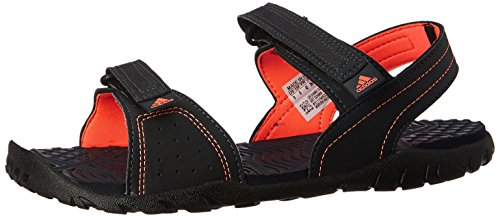 adidas Women's Aron W Grey, Pink and Black Athletic and Outdoor Sandals - 7 UK  available at amazon for Rs.1439