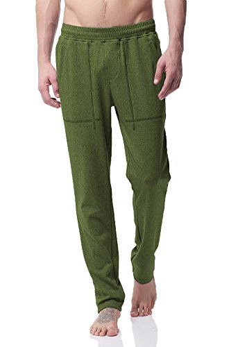 PH-20 Herren Powerblend Retro Fleece Jogger hose Fitted Shorts Bodybuilding Workout Gym Running (S Green) (Fleece Shorts Running)