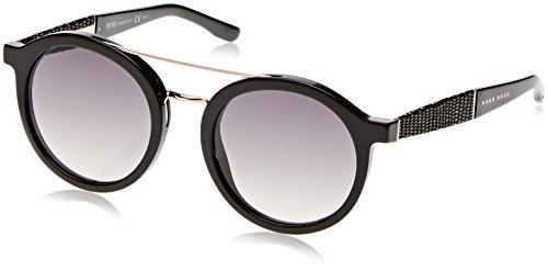 BOSS Hugo Damen 0853/S 9C 807 Sonnenbrille, Schwarz (Black/Dark Grey Sf), 50