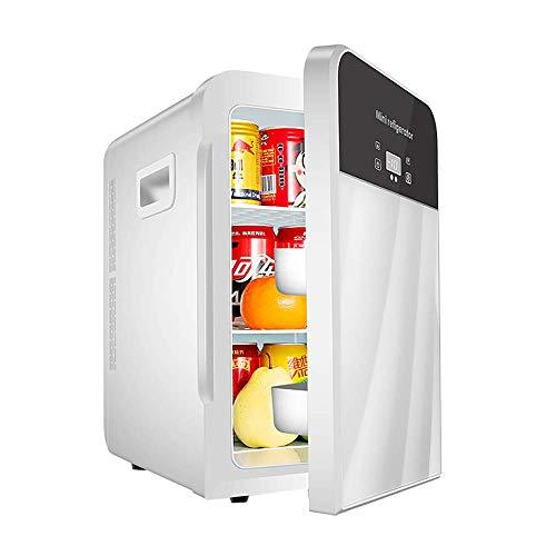 Preisvergleich Produktbild MNBX 22L Mini-Kühlschrank Dual-Core-Kühlung Touchscreen-Temperaturregelung Auto und Heimgebrauch Kühlung Heizung Box Kühlschrank