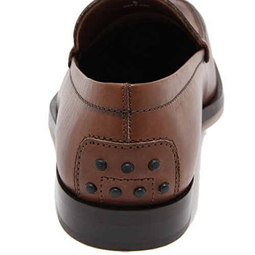 76716 mocassino TOD'S BOSTON FASHION MOC scarpa uomo loafer shoes men Cacao