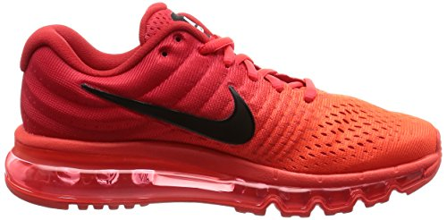 Nike Air Max 2017 Herren Freizeitschuhe 849559-001 Rot (Bright Crimson/University Red/Black)