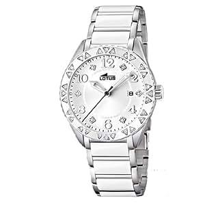 Lotus–L15704–1Montre bracelet Pour femme, bracelet en céramique