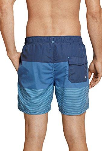 Schiesser Herren Badeshorts Aqua Swimshorts Jeansblau