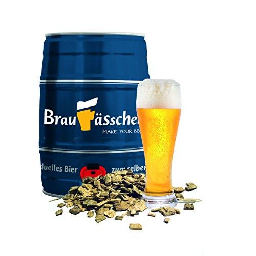 Bierbrauset zum selber Brauen – Weißbier mit Bourbonholz im 5 L Bierfass