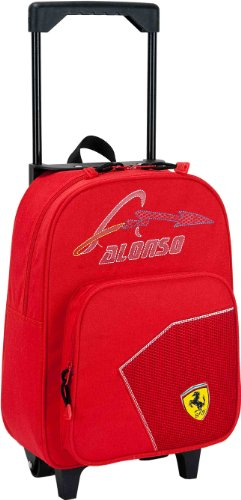 Josman 705142 Alonso - Ferrari Mochila con Ruedas