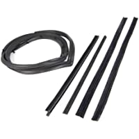 Omix-Ada 12303.51 Driver Side Full Door Seal Kit with Moveable Window Vent by Omix-Ada