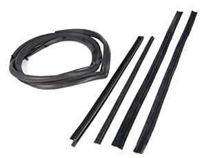Omix-Ada 12303.50 Passenger Side Full Door Seal Kit with Moveable Window Vent by Omix-Ada