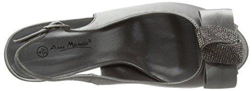 Spot on Damen F10254 Sandalen Grey (Pewter)
