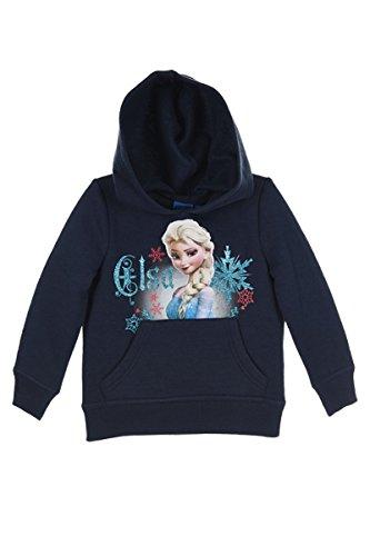 Disney Frozen Die Eiskönigin Elsa Anna (1154) - Kinder Kapuzenpullover Pullover Sweatshirt Hoody, Blau, Größe: (Disney Anna Und Elsa Frozen)